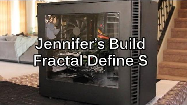Embedded thumbnail for Jennifer's Build Update - Fractal Define S