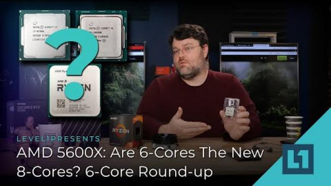 Embedded thumbnail for AMD 5600X: Are 6-Cores The New 8-Cores? 6-Core Round-up