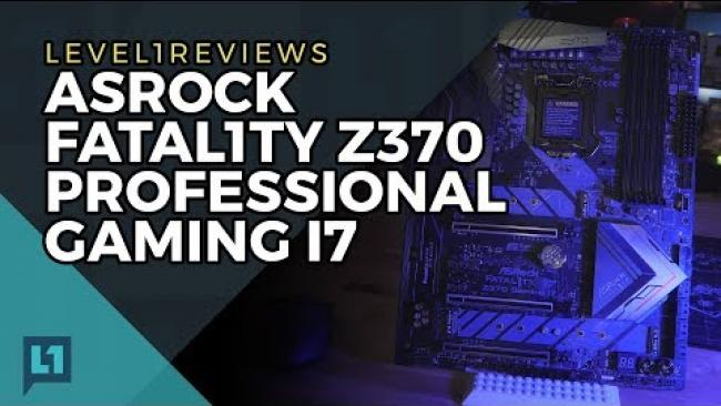 Embedded thumbnail for ASRock Fatal1ty Z370 Professional Gaming i7 Review + Linux Test