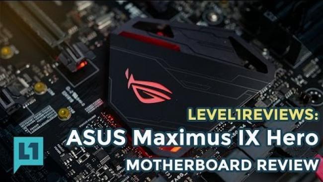 Embedded thumbnail for ASUS Maximus IX Hero - Z270 for Kaby Lake i7 7700k