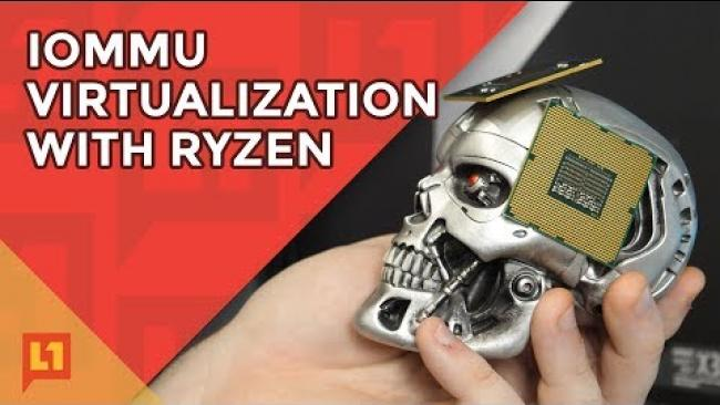 Embedded thumbnail for GPU Passthrough for Virtualization with Ryzen: Now Working