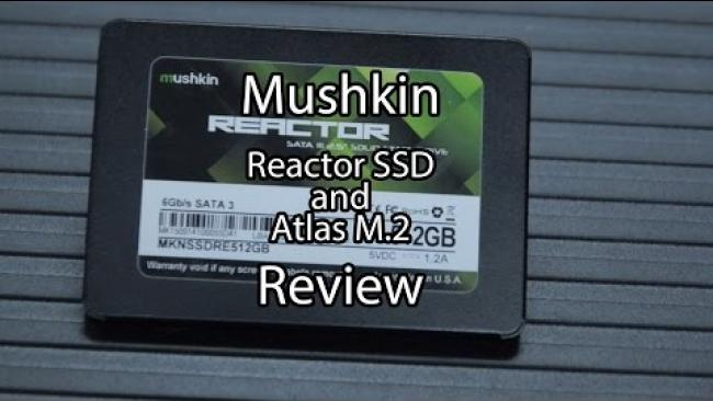 Embedded thumbnail for Mushkin SSD and Atlas M.2