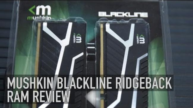 Embedded thumbnail for Mushkin Blackline Ridgeback DDR4 RAM Review