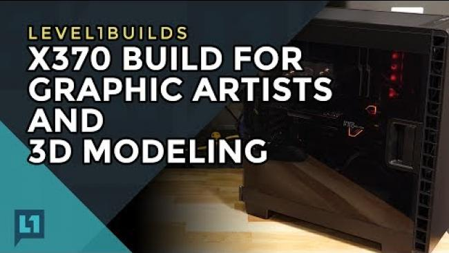 Embedded thumbnail for AMD WX7100 Pro GPU build with X370 MSI Carbon
