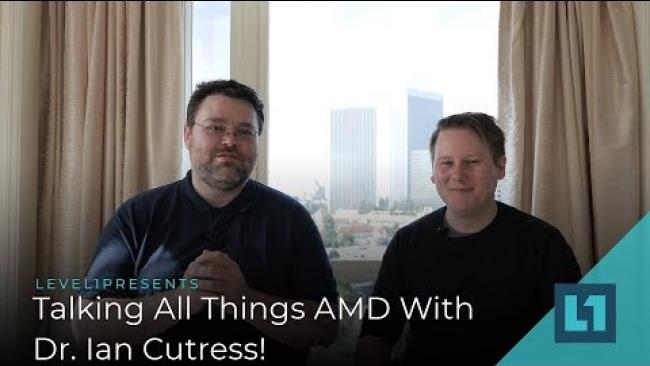 Embedded thumbnail for Hot in 2019: Ryzen 3000, Navi, Intel Xeon W w/Dr. Ian Cutress