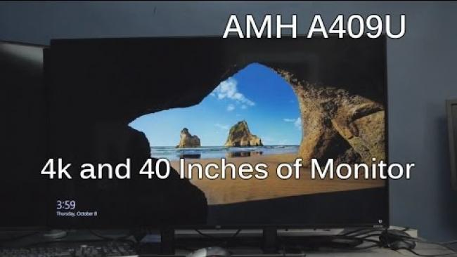 Embedded thumbnail for AMH A409 Unboxing & Review : Glorious 4k in 40 inches!