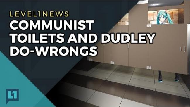 Embedded thumbnail for L1News: 2017-04-11 Communist Toilets and Dudley Do-Wrongs