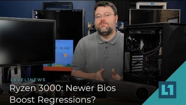 Embedded thumbnail for Ryzen 3000: Newer Bios Boost Regressions?