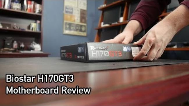 Embedded thumbnail for Biostar H170GT3 Motherboard Review
