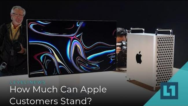 Embedded thumbnail for Level1 News June 13 2019: How Much Can Apple Users Stand?
