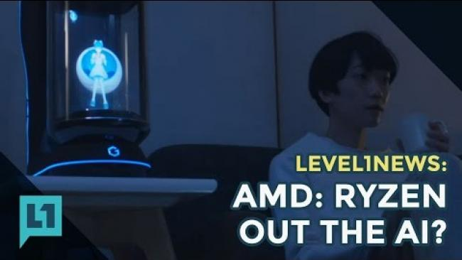 Embedded thumbnail for Level1 News: 2016-12-20: AMD Ryzen out the ai?