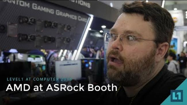 Embedded thumbnail for Computex 2018: AMD @ the ASRock Booth