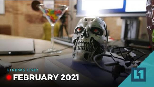 Embedded thumbnail for L1 Live! News Feb 26 b