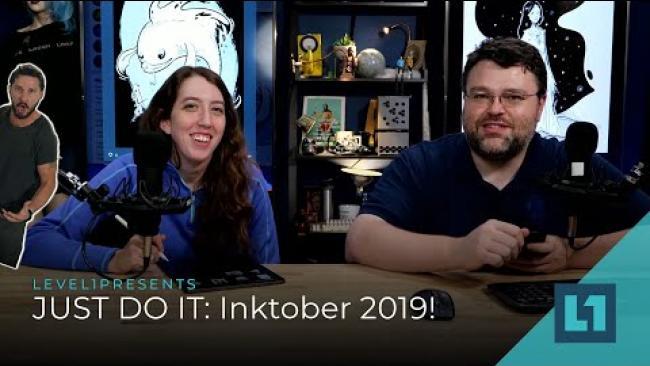 Embedded thumbnail for Level1 JustDoIt Challenge: Inktober 2019!