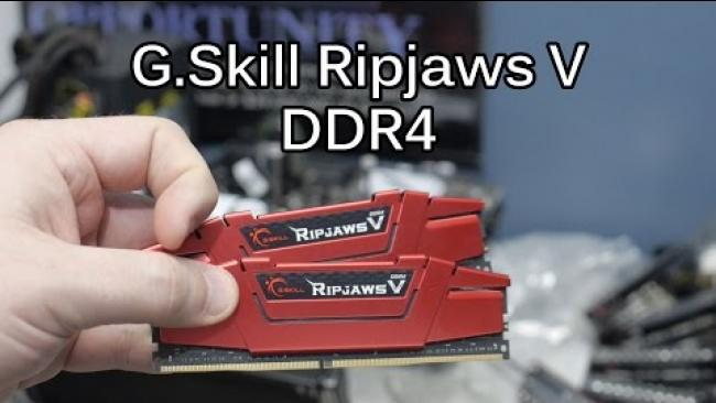 Embedded thumbnail for DDR4 XMP Overview with GSKILL RipJaws V for Z170