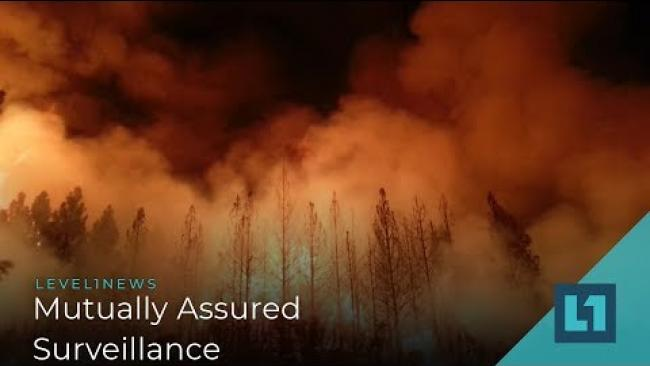 Embedded thumbnail for Level1 News May 22 2019: Only Software Can Prevent Forest Fires