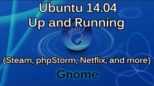 Embedded thumbnail for Fireside Chat: Install Ubuntu 14.10 Gnome & Useful Apps