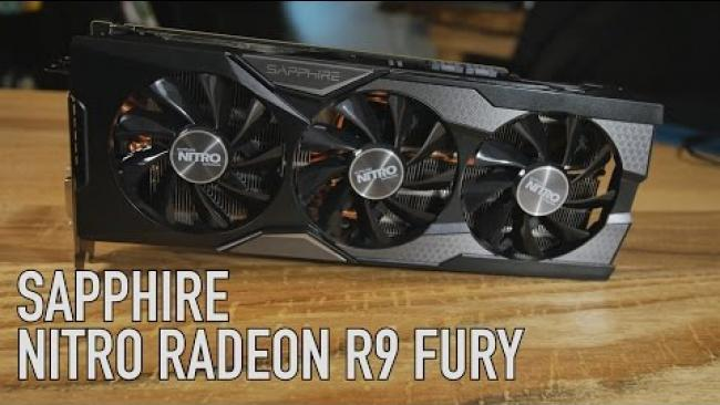 Embedded thumbnail for SAPPHIRE NITRO R9 FURY - Overview & Benchmarks