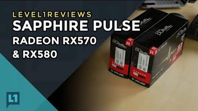 Embedded thumbnail for Sapphire Pulse RX 570 and RX 580