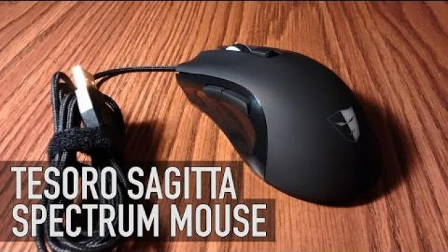 Embedded thumbnail for Tesoro Sagitta Spectrum Mouse Overview