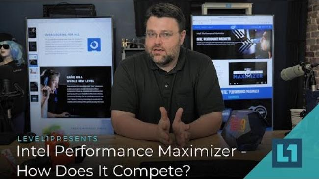 Embedded thumbnail for Intel Performance Maximizer- Awesome or AMD reaction? How Does It Compare?