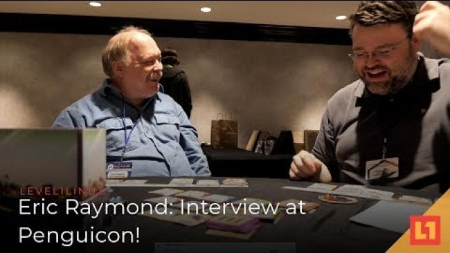Embedded thumbnail for Penguicon 2019: A Chat With Eric S. Raymond