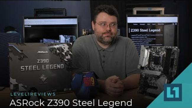 Embedded thumbnail for ASRock Z390 Steel Legend Motherboard Review + Linux Test