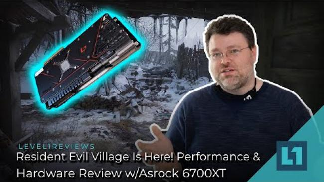 Embedded thumbnail for Resident Evil Village Is Here! -- Performance & Hardware Review w/Asrock 6700XT