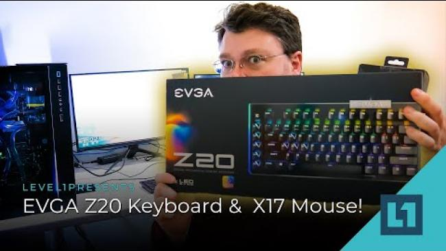 Embedded thumbnail for Let's Look At: EVGA Z20 Keyboard & X17 Mouse!