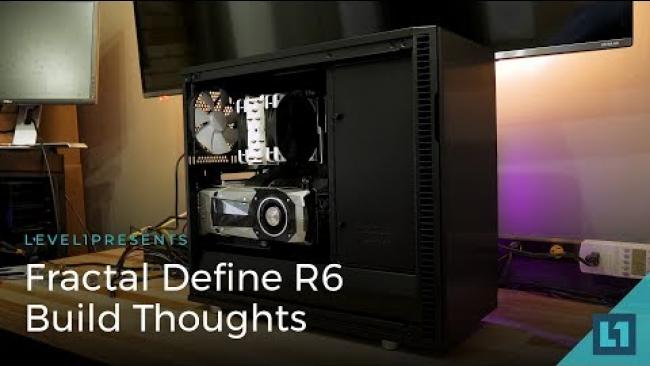 Embedded thumbnail for Fractal Define R6 Build Thoughts