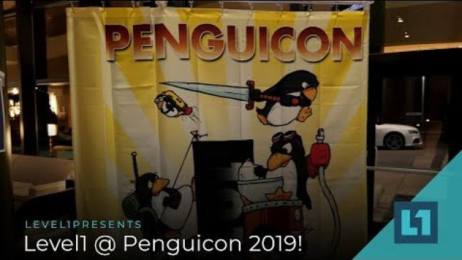 Embedded thumbnail for Level1 @ Penguicon 2019!