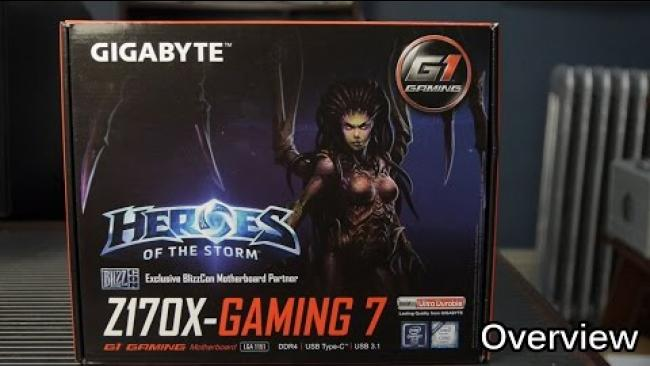 Embedded thumbnail for Gigabyte Z170X Gaming 7: Quick Unboxing
