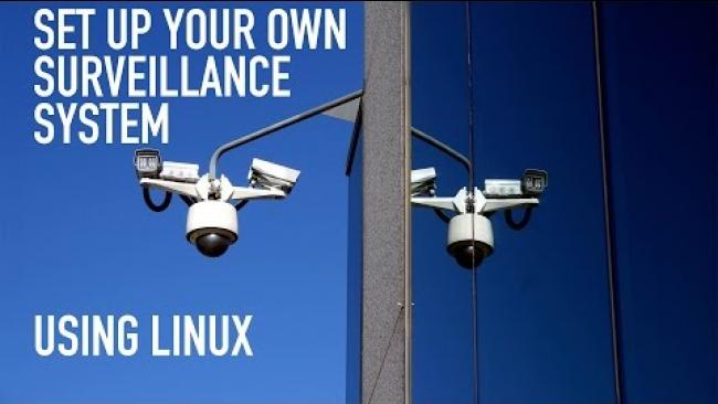 Embedded thumbnail for Easy: How To Set Up Your Own Surveillance System in Linux