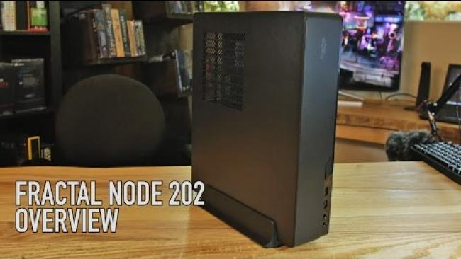 Embedded thumbnail for Fractal Node 202 ITX Case Overview