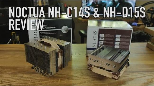 Embedded thumbnail for Noctua NH-D15S & NH-C14S Overview & Overclocked Tests