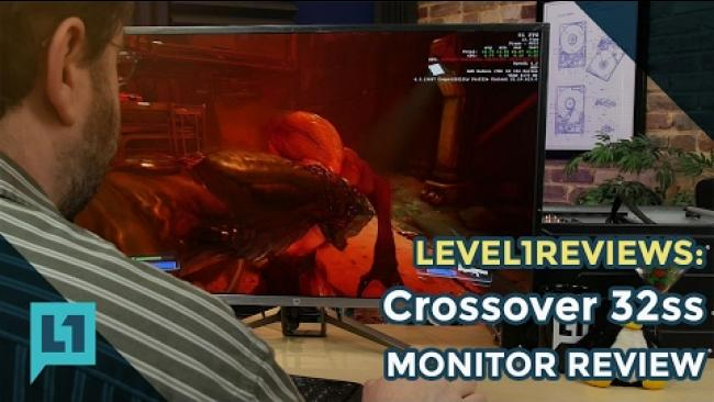 Embedded thumbnail for Crossover 32SS Monitor Unboxing, Testing, Play Test, and Review