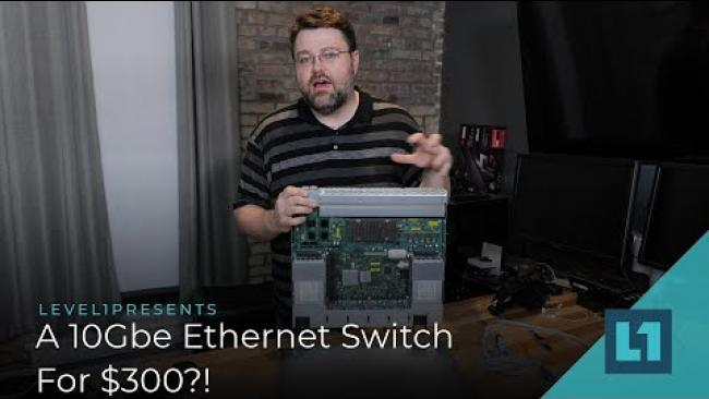 Embedded thumbnail for Arista 7050T - A 10Gb, 48 port Ethernet Switch For $300?! Tested.