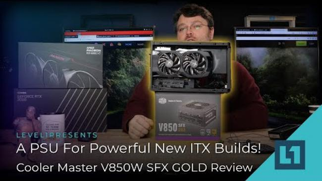 Embedded thumbnail for A PSU For Powerful New ITX Builds! - Cooler Master V850W SFX GOLD Review