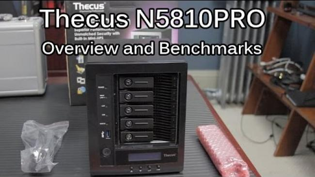 Embedded thumbnail for Thecus N5810 Pro -- Your Home/Small Business Storage Server