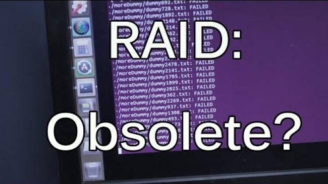 """Embedded thumbnail for RAID: Obsolete? New Tech BTRFS/ZFS and """"traditional"""" RAID"""