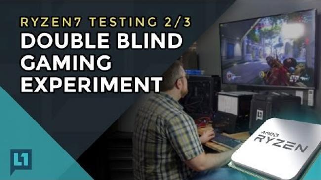 Embedded thumbnail for AMD Ryzen Part 2: 4-way Ryzen vs Intel: Double Blind Experiment (Part 2 of 3)