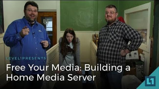 Embedded thumbnail for Free Your Media: How to Build a Home Media Server